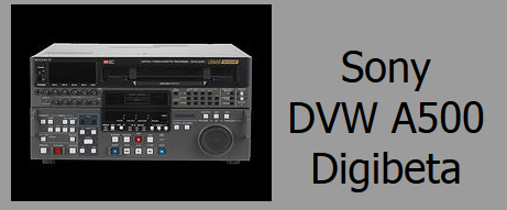 Sony DVW A500 Deck Rental