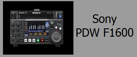 Sony PDW F1600 Deck Rentals