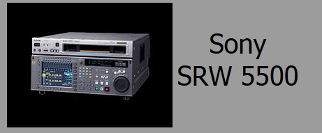 Sony SRW-5500 VTR Deck Rental